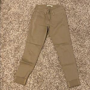 Levi's Size 25 (710) Super Skinny Khakis